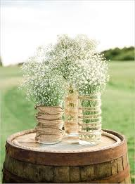 Rustic Backyard Wedding Ideas Diy Rustic Wedding Ideas Using Baby S Breath Diy Rustic Weddings