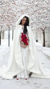 winter wedding dress 2015 amazing white ivory bridal winter wedding cloak cape faux