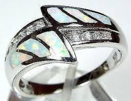 ebay rings opal images Fire opal ring ebay JPG