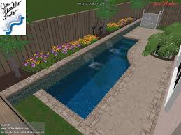 Deep Backyard Pool by Swimming Pool Design Big Ideas For Small Yards