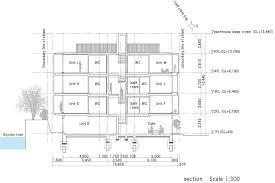 4 Unit Apartment Building Plans Gallery Of Fukosha Apartment Building Suep 13