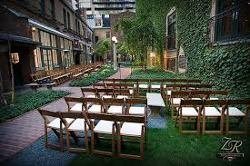 outdoor wedding venues chicago chicago s best garden party wedding venues brides