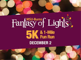 fantasy of lights 5k midwestern state university fantasy of lights 5k 1 mile fun run