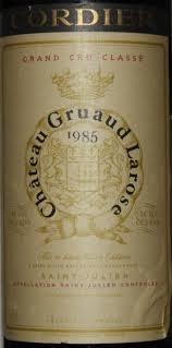30 years of château gruaud 1985 château gruaud larose bordeaux médoc st julien