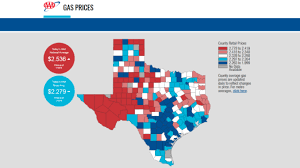 average gas price lone star state has cheapest statewide gas price average in u s