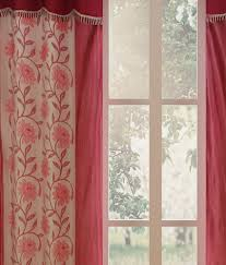 India Curtains Homefab India Buy 2 Get 2 Door Eyelet Curtains Floral Buy