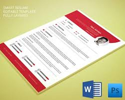 Smart Resume Sample by Cv Templates U2013 61 Free Samples Examples Format Download Free