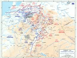 Rivers Of The United States Map by Map Of The Encirclement Of The Ruhr River March April 1945