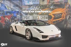 truck lamborghini 2017 manila auto salon and sport truck show 9tro