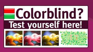 color test am i colorblind youtube