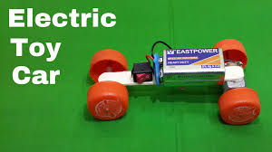 how to make a homemade toy electric car using waste materials