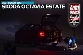 estate car of the year 2017 skoda octavia estate new car awards
