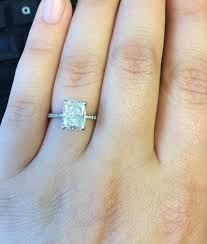 radiant cut engagement ring real engagement rings radiant diamonds