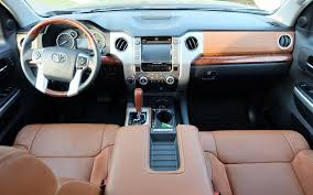 nissan tundra interior 2016 toyota tundra 1794 edition the try hard the car guide