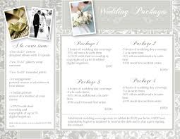 photography wedding packages ciep photography wedding photography packages
