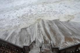 cape cod national seashore officials survey storm damage