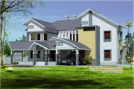 modern mix luxury home exterior design kerala home design and