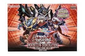 konami yu gi oh pendulum domination structure deck box da card world