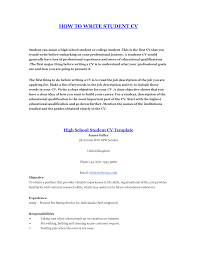 Job Resume Examples For High by How To Do A Resume For Your First Job Free Resume Example And