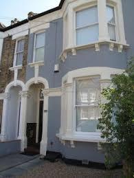 front door farrow and ball railings victorian house in hardwick