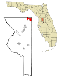 Greater Orlando Area Map by The Villages Florida Wikipedia