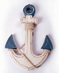 Wooden Anchor Wall Decor Nautical Compass Rose Wall Art Decor Polkadot Homee Ideas