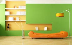 home design hd pictures orange sofa room design wallpaper hd desktop background
