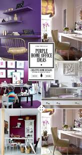 Home Design Color Ideas Best 25 Purple Home Offices Ideas On Pinterest Purple Home