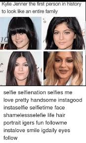 Kylie Jenner Meme - kylie jenner the first person in history to look like an entire