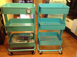 ikea raskog utility cart scrapbook organization ikea raskog cart vs sam s club knock off