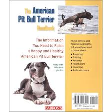 american pitbull terrier 1 a american pitbull terrier 2nd edition book 027011747441