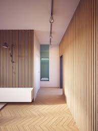 wood paneling modern this is how to make wood panel walls look modern nonagon style