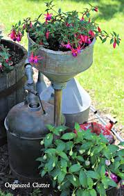 Container Gardening Flowers How To Add Vertical Interest To The Flower Garden Organized Clutter
