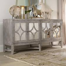 wood and mirrored console table furniture melange brown console table
