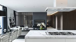 Black And White Home Interior Three Black And White Interiors That Ooze Class