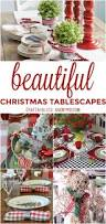 542 best christmas tablescapes images on pinterest christmas