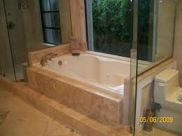 bathroom glass shower panel with cozy kohler whirlpool tubs and
