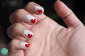 nail polish dirty newspaper nails heart bookmark nails minted