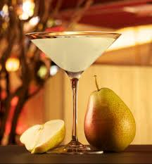 martini sour the pear a sol from wynn las vegas 1 oz absolut pear vodka 1 2