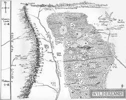 The Hobbit Map Tengwar Feanor Elvish Transcriber