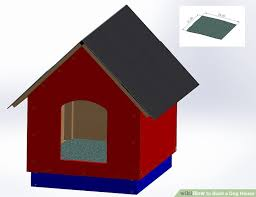 How To Build A Shed Roof House by How To Build A Dog House With Pictures Wikihow