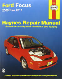 ford focus st service manual ford focus automotive repair manual 2000 2007 haynes automotive