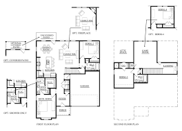Attic Floor Plans by Available Floor Plans Red Gable Homes