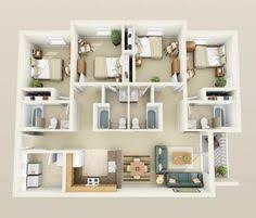 four bedroom house 50 four 4 bedroom apartment house plans bedroom apartment