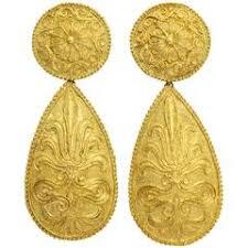1970s earrings 1970s gold reverso earrings for sale at 1stdibs