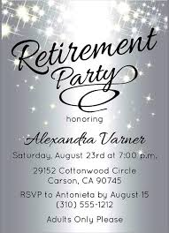 free templates for retirement party invitations adiv info