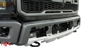 Ford F 150 Truck Body Parts - how to 2017 ford f 150 raptor front bumper removal