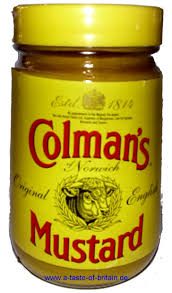 coleman s mustard colman s mustard 100g a taste of britain