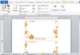 thanksgiving templates microsoft word