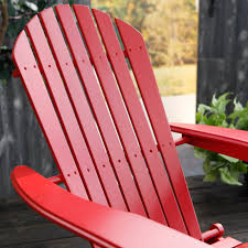 cape cod foldable adirondack chairs red set of 2 walmart com